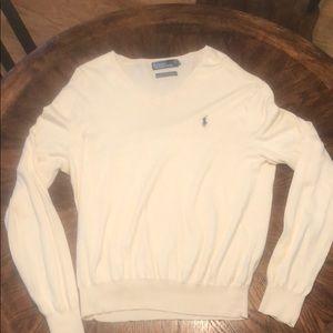 Polo V Neck Sweater